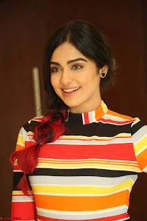 Adha Sharma in a Cute Colorful Jumpsuit Styled By Manasi Aggarwal Promoting movie Commando 2 (127).JPG