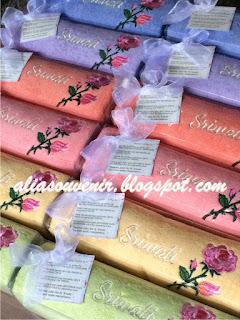 souvenir handuk