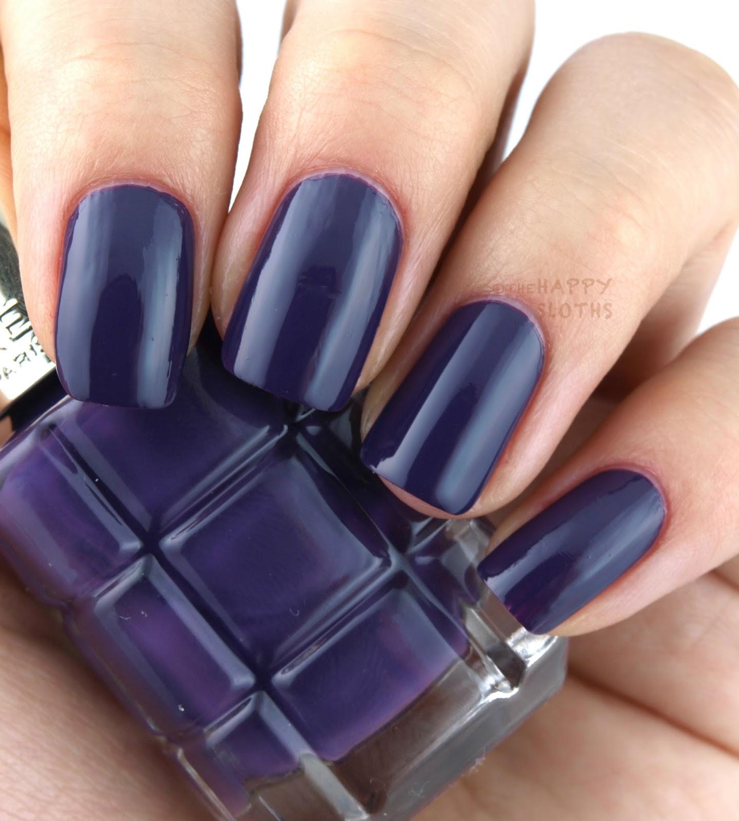 Vernis Nail: L'Oreal Color Riche Le Vernis L'Huile Nail Polish: Review