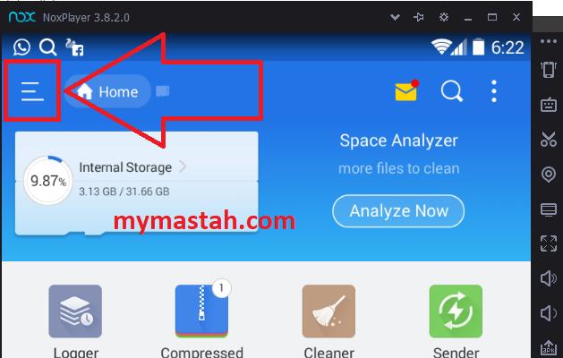 Cara Sharing File dari Nox Emulator ke Komputer - MyMastah