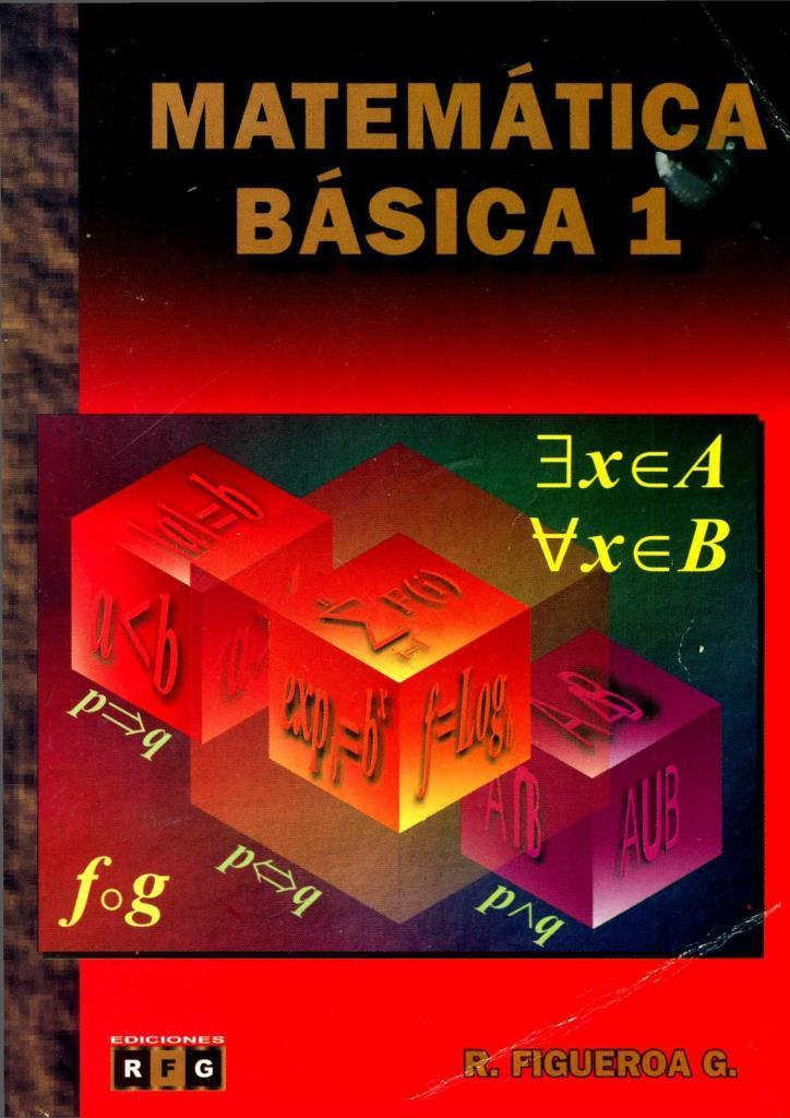 Matemática Básica 1 – Ricardo Figueroa García