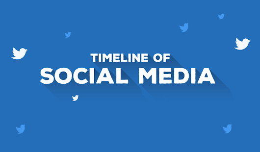 The Timeline of Social Media from 2002 – 2018 [Infographic]