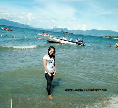 Berwisata Ke Objek Wisata Pantai Pasir Putih Lumban Bulbul Balige