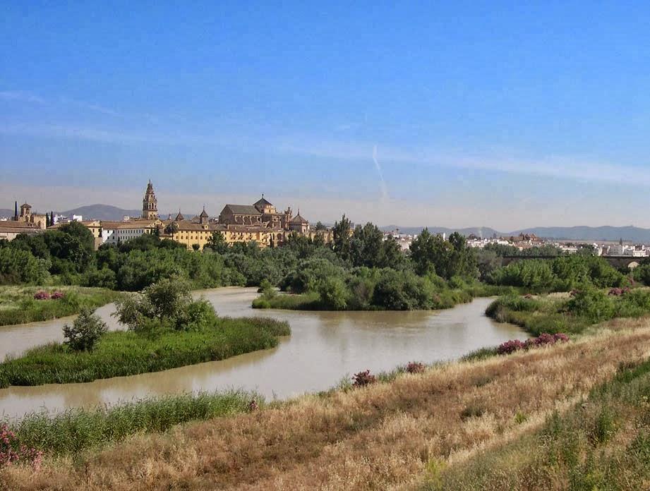 Rio Guadalquivir na Espanha