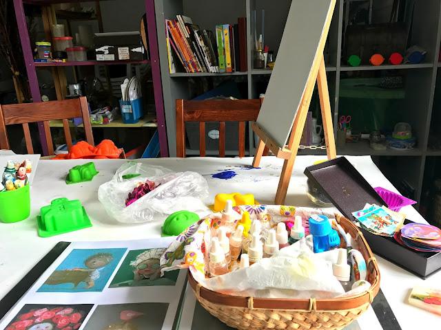 """Индивидуальный мастер-класс по масляной живописи в творческой студии """"Art Game"""""""