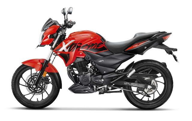 New Hero Xtreme 200R side look image