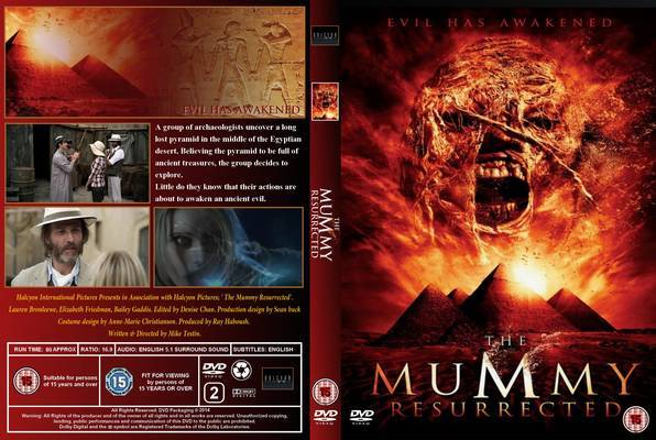 Download Mumia A Ressurreição BDRip XviD Dual Áudio The Mummy Resurrected 2014  Front Cover 89829