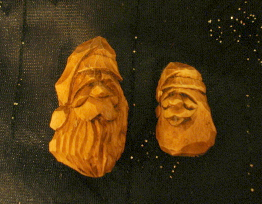 Beginners Carving Corner And Beyond Carving Happy Santa Faces