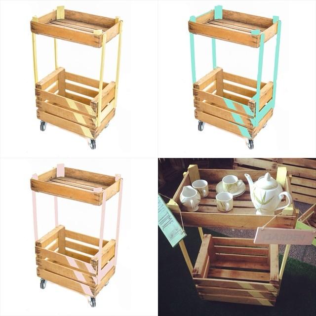 El Rincn Vintage de Karmela Las cajas de madera un elemento