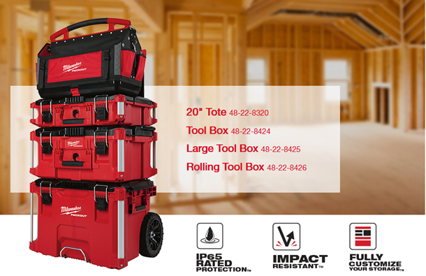 76da0e2075e Milwaukee Tool is adding Low-Profile Organizers and Tool Bags to their  hugely popular PACKOUT™ Modular Storage System in July and August