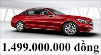 Giá xe Mercedes C200 2018