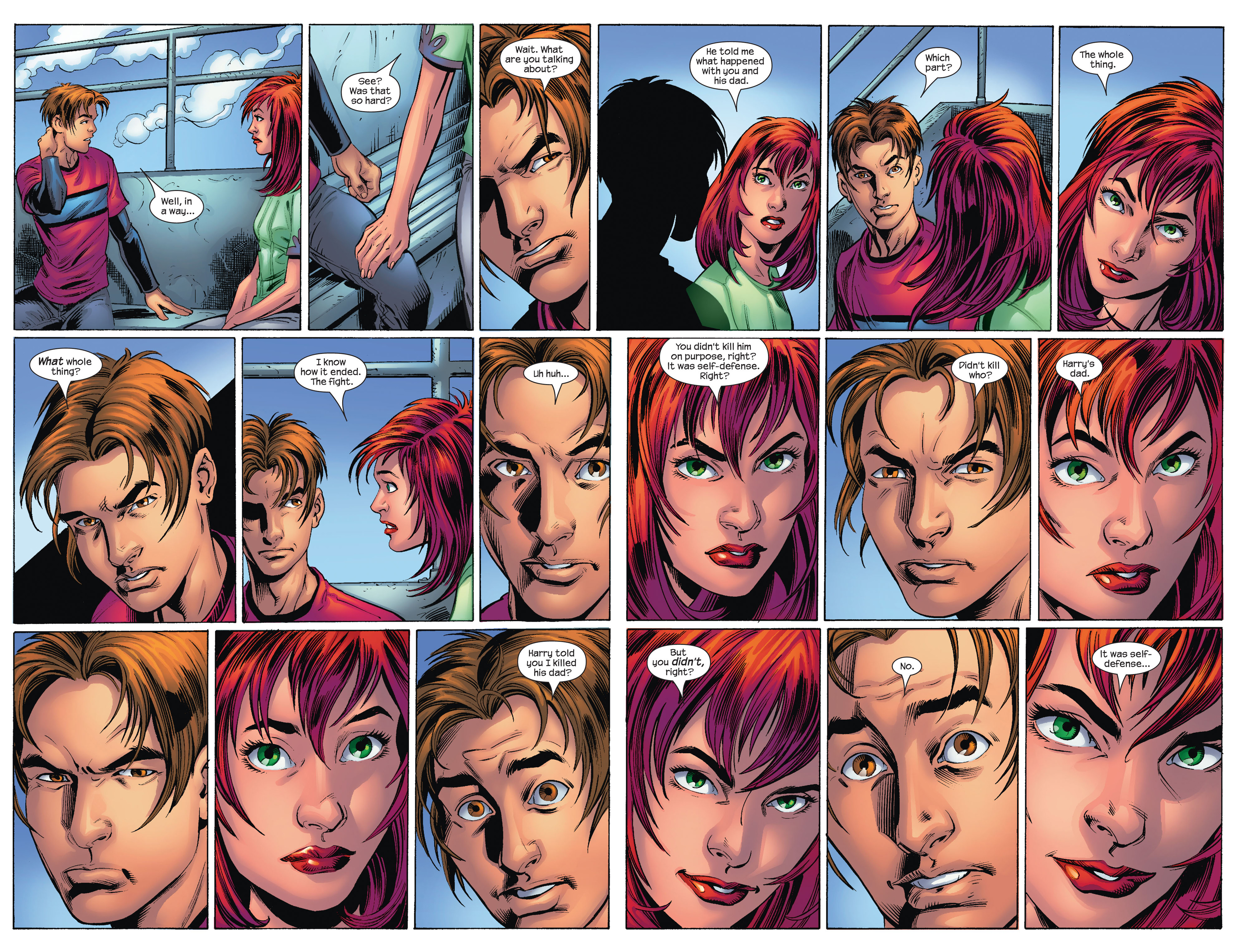 Read online Ultimate Spider-Man (2000) comic -  Issue #75 - 15