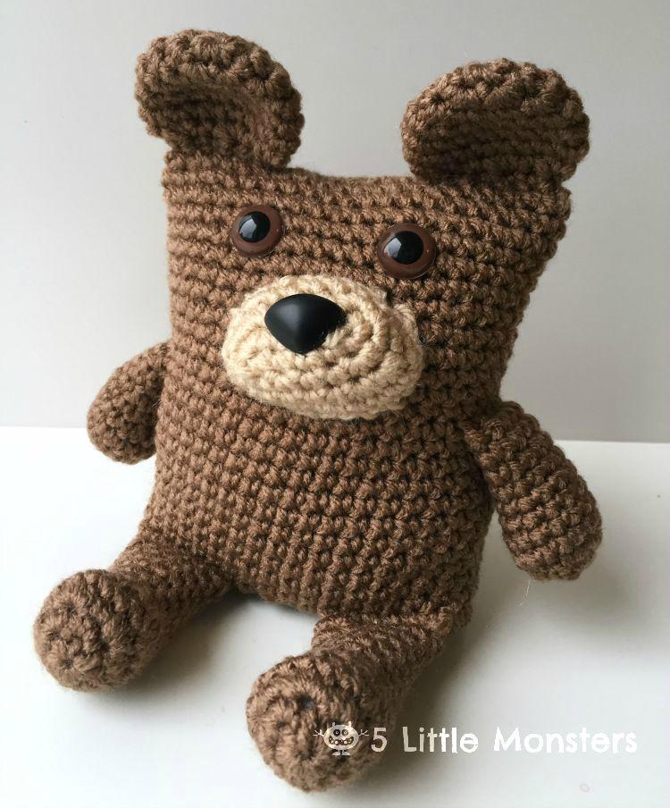 20+ Free Crochet Teddy Bear Patterns ⋆ Crochet Kingdom | 904x750