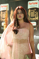 Nidhi Subbaiah Glamorous Pics in Transparent Peachy Gown at IIFA Utsavam Awards 016.JPG