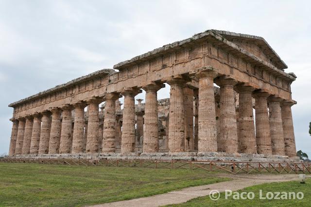 Paestum templo de Poseidon
