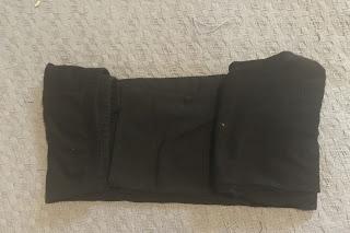 konmari fold for plus size pants