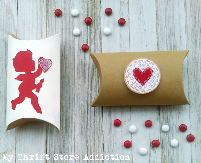 15 minute Valentine treat gift boxes