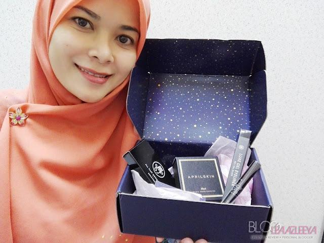 black sparkling box, smokey eyes, smokey makeup, althea, kbeauty, makeup, skincare, kosmetik korea, althea korea, althea malaysia
