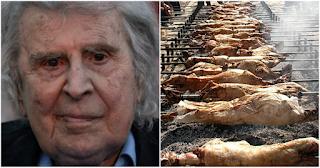 Μ. Θεοδωράκης για κακοποίηση ζώων: «Να σταματήσει το βάρβαρο έθιμο με το σούβλισμα του αρνιού»