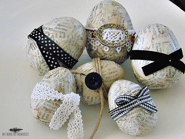easter-eggs-with-ribbons-and-newspapers