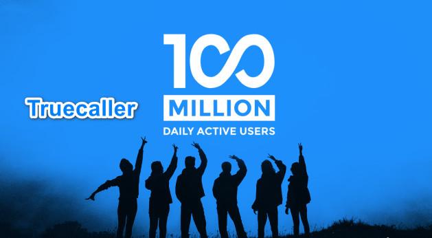 تطبيق Trucaller يحطم رقم قياسي جديد 100 مليون مستخدم نشط يوميا