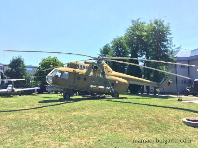 Helicóptero MI-2 Museo Militar de Sofía