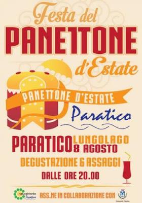 Festa del Panettone d'Estate 6 agosto Paratico (BS) 2016