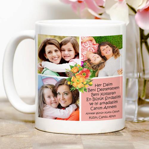 anneye özel kahve kupası