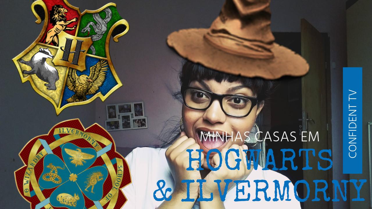 POTTERMORE | Descobri minhas casas em Hogwarts e Ilvermorny  | BLOG CONFIDENT