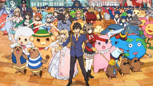 Amagi Brilliant Park - Best Anime Like Charlotte