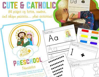 https://peterssquare.com/product/catholic-preschool-printables/