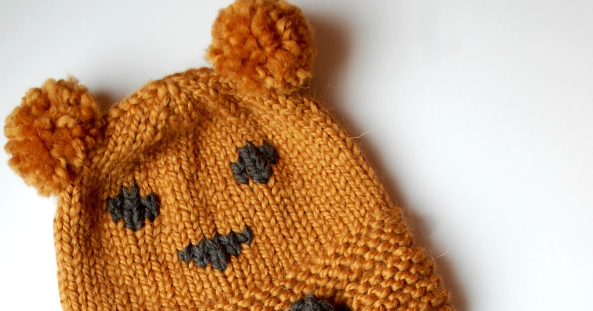 The Geeky Knitter Free Knitting Patterns Teddy Bear Hats