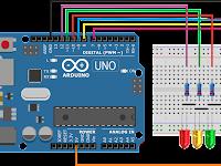 Belajar Arduino | Lampu Lalu Lintas Interaktif