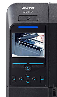 Sato NX Range  showing colour screen