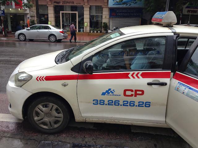 ベトナムのタクシー Vietnam-taxi-group
