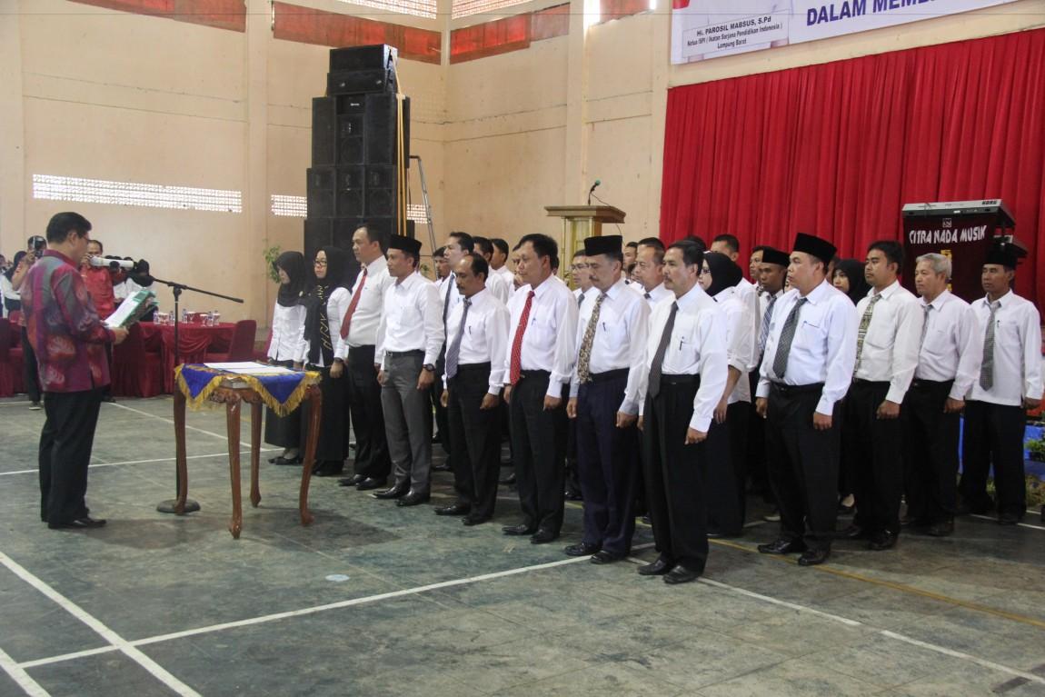 Parosil Resmi Pimpin ISPI Lampung Barat