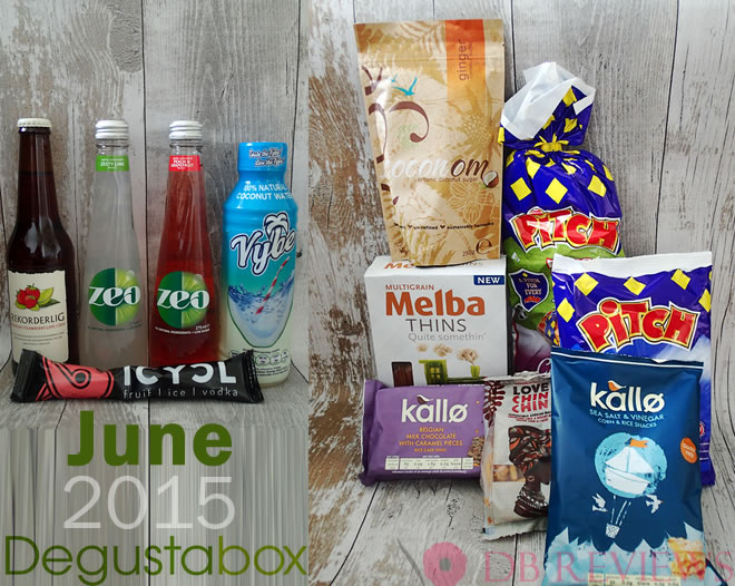 June 2015 Degustabox - The Picnic Box