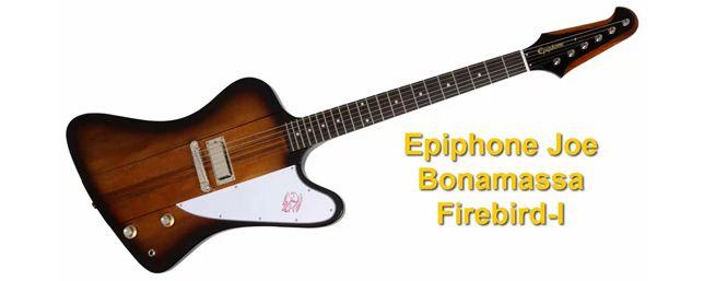 Guitarra Eléctrica Epiphone Joe bonamassa Firebir I