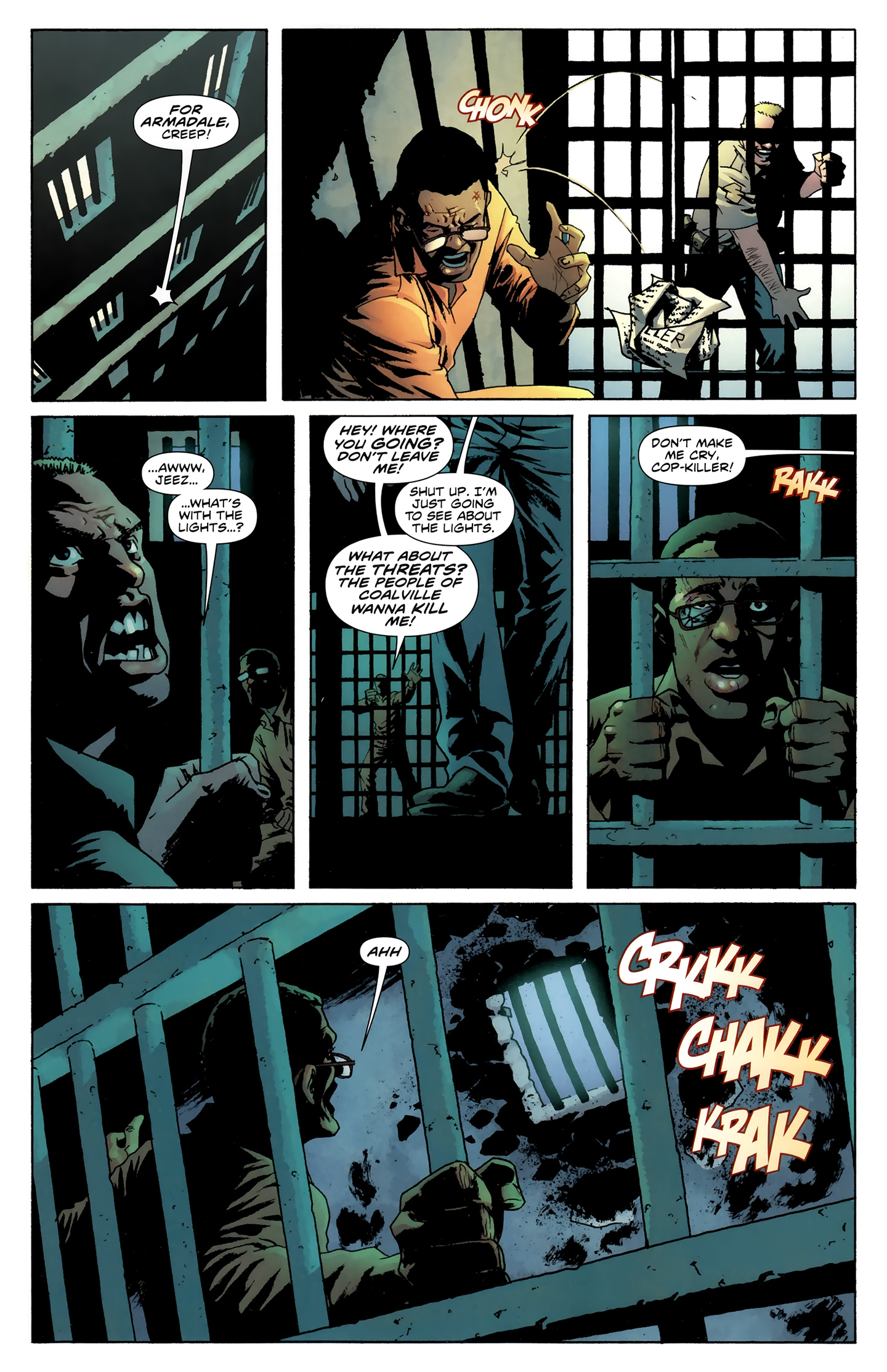 Read online Incorruptible comic -  Issue #28 - 12