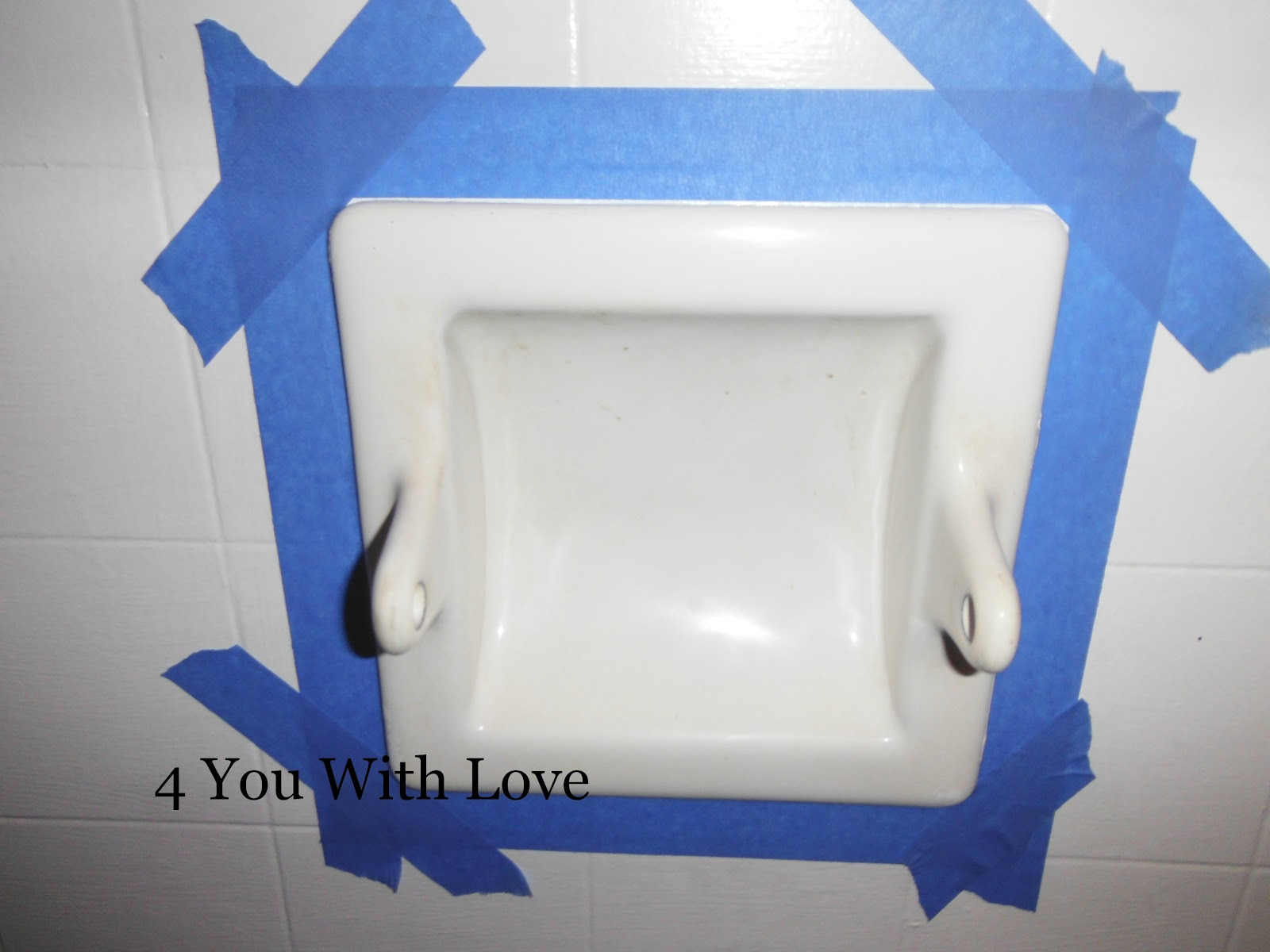 Painting Porcelain Bathroom Fixtures 4 You With Love. Can You Spray ...