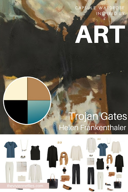 Trojan Gates by Helen Frankenthaler - Revisiting for Spring 2018