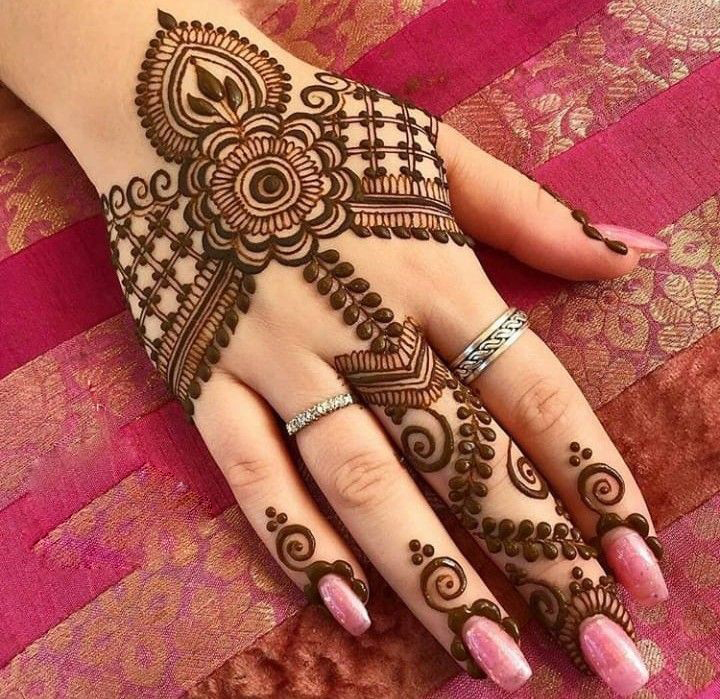 100 Latest New Mehndi Designs 2019 For Hands Fancy Fashion
