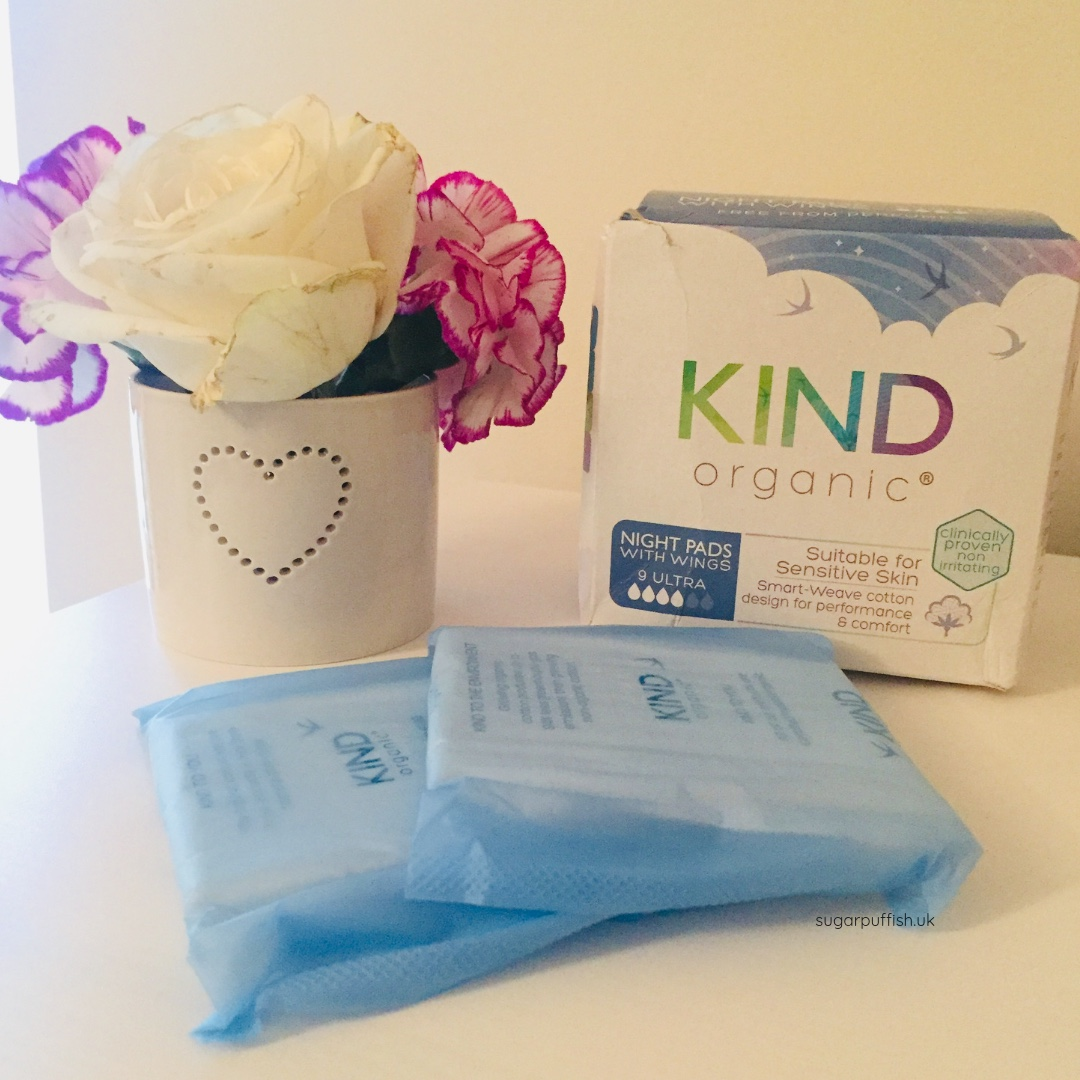 kind organic natural period care products