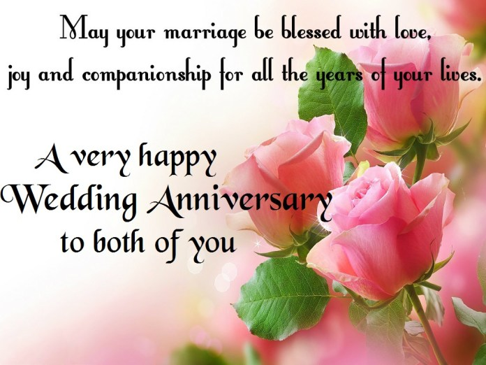 Best happy wedding anniversary wishes for husband
