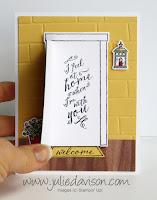 Stampin' Up! At Home With You card ~ www.juliedavison.com