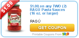 picture regarding Ragu Printable Coupons named RAGÚ Pasta Sauce Printable Coupon Promotions and In the direction of-Dos