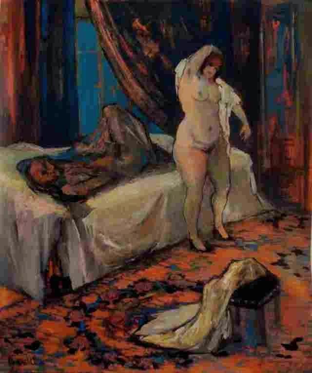 Российская художница. Ольга Окунева