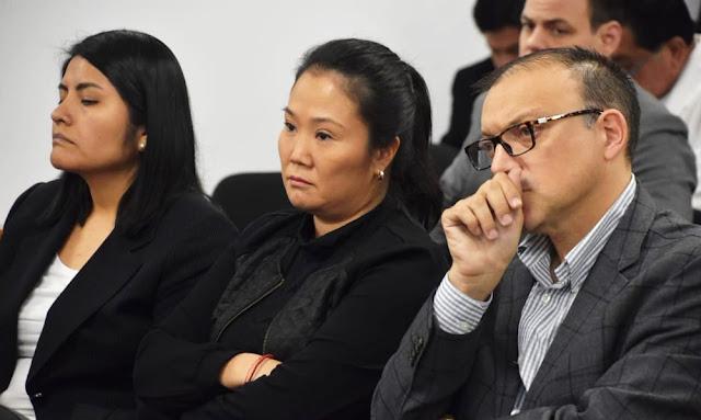 Dictan prisión preventiva a keiko fujimori