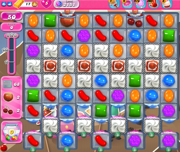 Candy Crush Saga level 2151