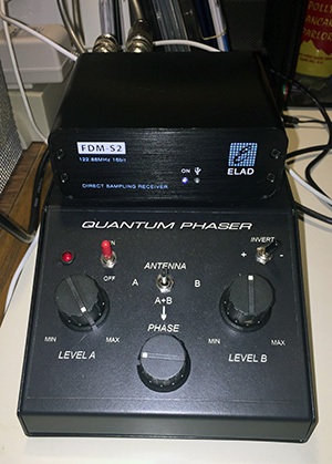 Quantum Phaser under the ELAD FDM-S2